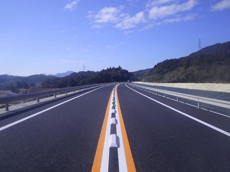 国道497号(井手野地区)