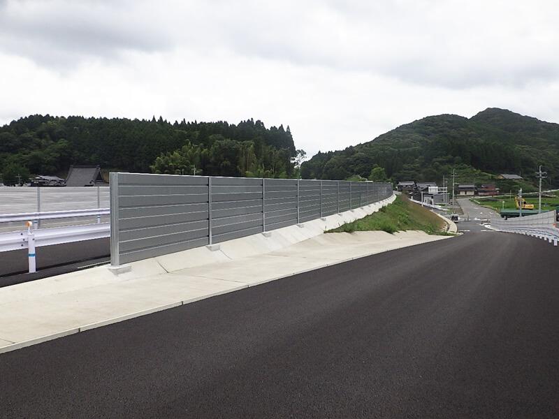 平成29年 道路防護柵工事