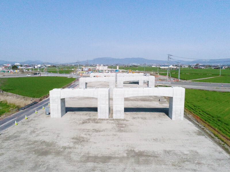 平成31年 208号橋脚工事