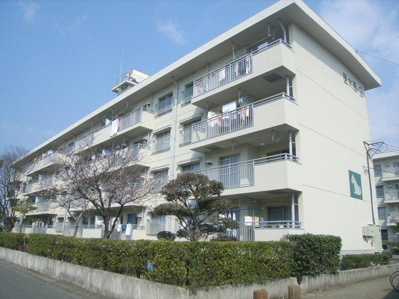 県営住宅新栄団地4〜6棟 外壁改修